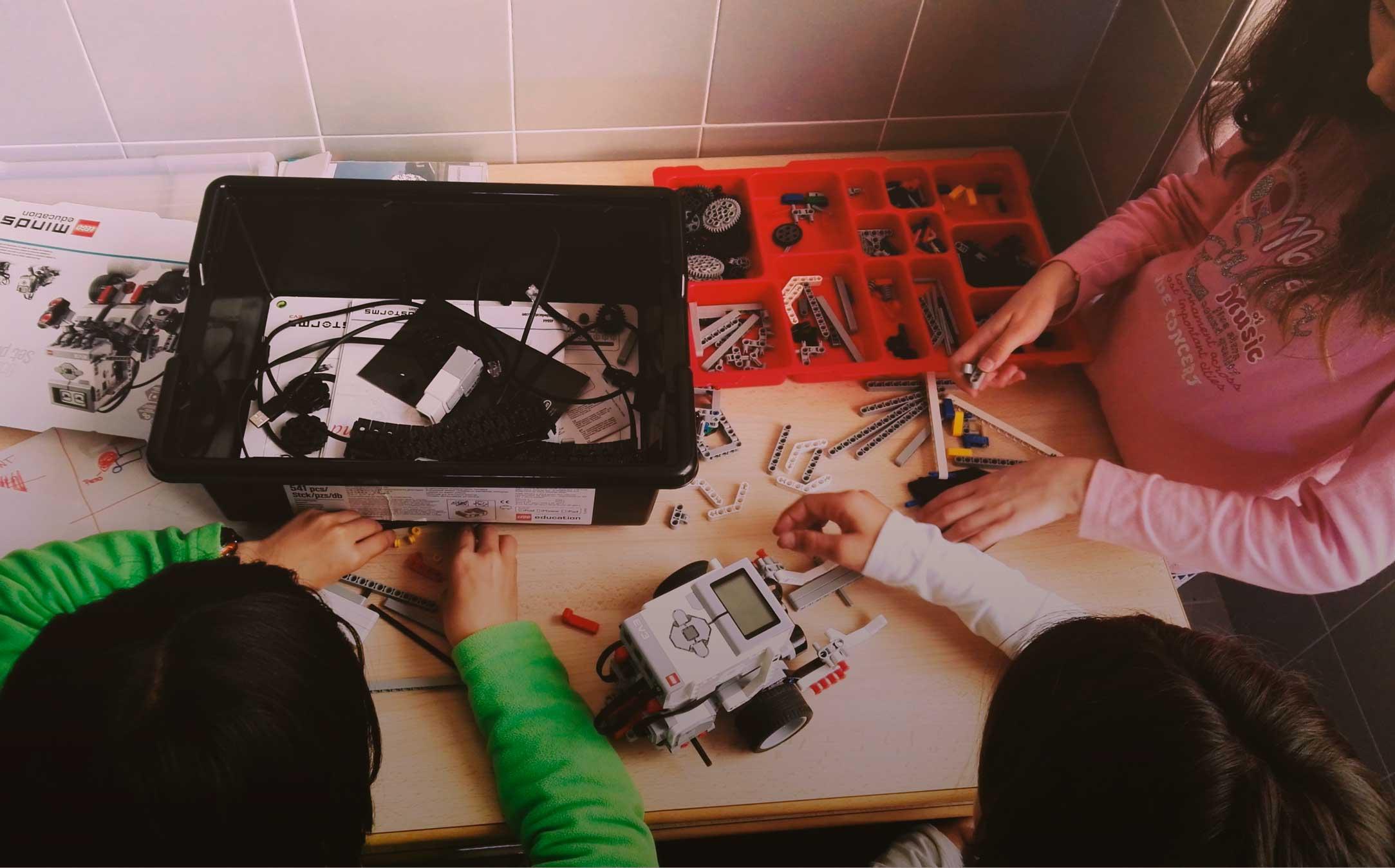 Entorno estimulante y de colaboración