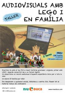 taller Audiovisuals amb LEGO