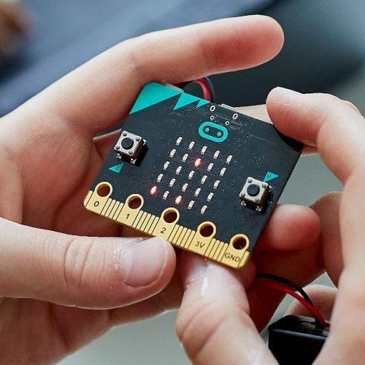 microbit y manos